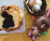 Cake Vanille Chocolat surprise pour Pâques