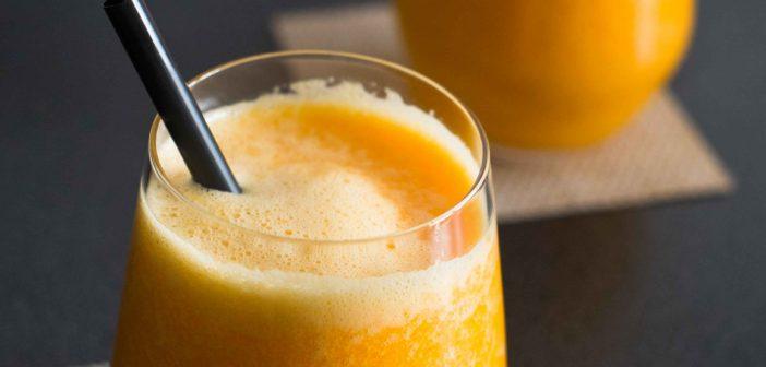 Jus de carotte aux oranges