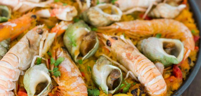 Paëlla aux fruits de mer expliquée pas à pas