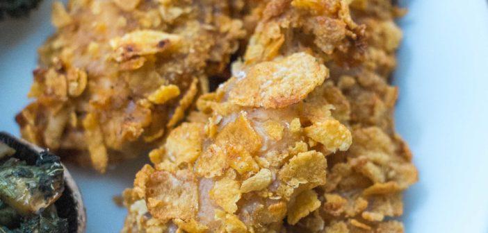 Aiguillettes de poulet pané… au four !