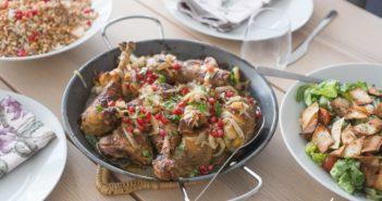 Cuisses de poulet fermier au Zaatar