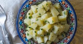 Salade de pommes de terre à la marocaine