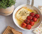 Feta et tomates rôtis au thym