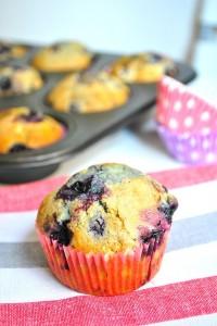 DSC_0297-200x300 - Muffins aux myrtilles