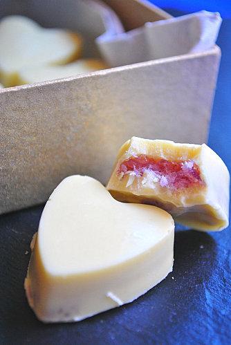 DSC_1689 - Chocolats blancs au coeur de bonbon à la lavande