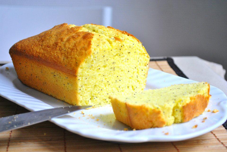 cake-pavot - Cake au citron et aux graines de pavot