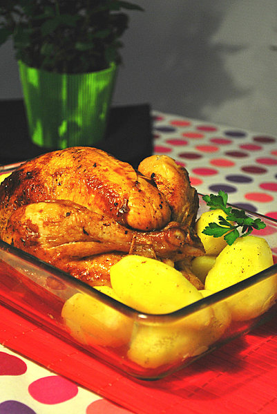 poulet_rotii - Poulet rôti aux herbes de Provence