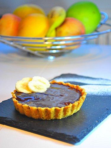 tarte-chocolat - Tarte Chocolat Banane
