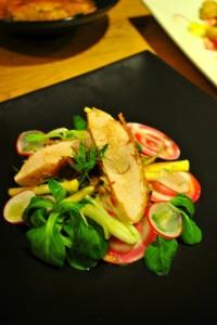 DSC_0027-200x300 - Salade printanière aux tendres filets mignon de dinde panés entre Asie et Méditerranée