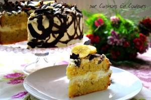 DSC_0536-300x200 - Gâteau à la banane comme un Layer Cake