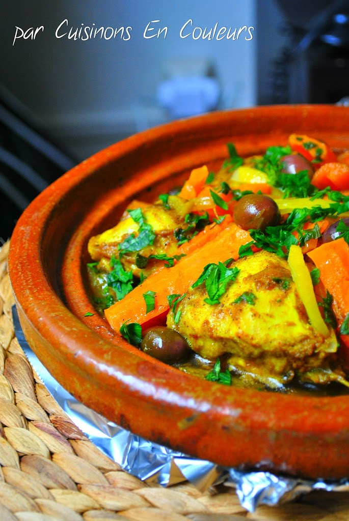 DSC_0582 - Tajine de poulet aux carottes et citron confit