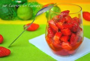 DSC_0111-300x204 - Salade de fraises marinées au citron vert et à l'orange