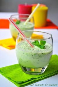 DSC_0183-200x300 - Gaspacho de concombre à la menthe : l'été est là!