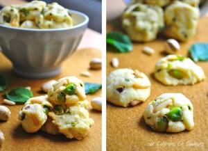 cookies-300x217 - Cookies aux éclats de pistaches et pignons de pin