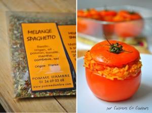 spaghetto-300x224 - Tomates farcies au risotto à ma façon