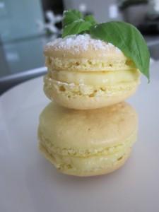 Macarons-citrons-basilic-225x300 - Concours Cuisinons En Couleurs (fin)