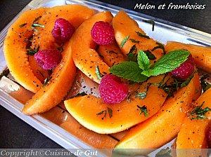 Melon-et-Framboises - Concours Cuisinons En Couleurs (fin)