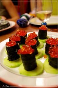 sushi-barquette-aux-oeufs-de-saumon-199x300 - Vos Participations au concours (la suite)