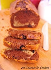 cake-marbre-217x300 - Cake marbré au chocolat aux fèves de tonka