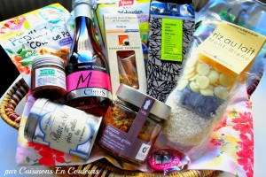 colis-gourmand-laurence-300x200 - Colis gourmands : Concours Cuisinons En Couleurs