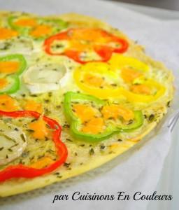 DSC_0529-256x300 - Pizza aux poivrons et mimolette Isigny Ste Mere