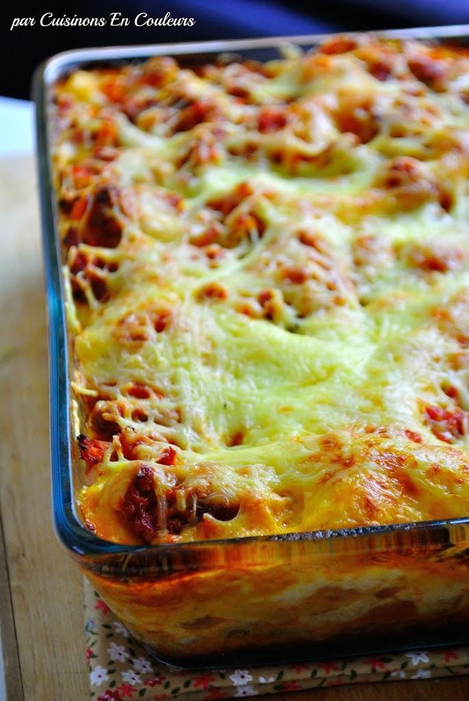 DSC_0241 - Mes lasagnes à la sauce bolognaise