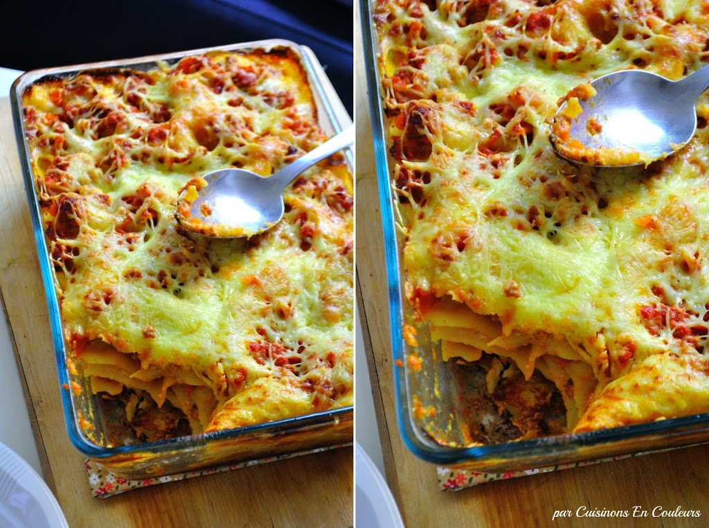 lasagne - Mes lasagnes à la sauce bolognaise