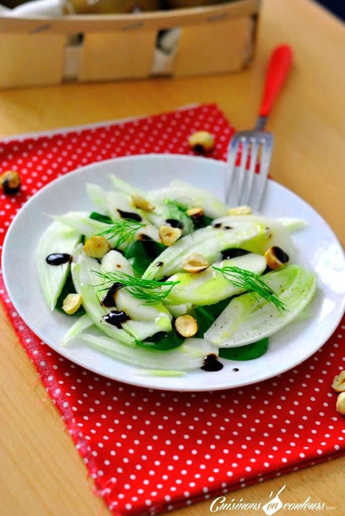 DSC_0148 - Salade de fenouil, poire et noisettes