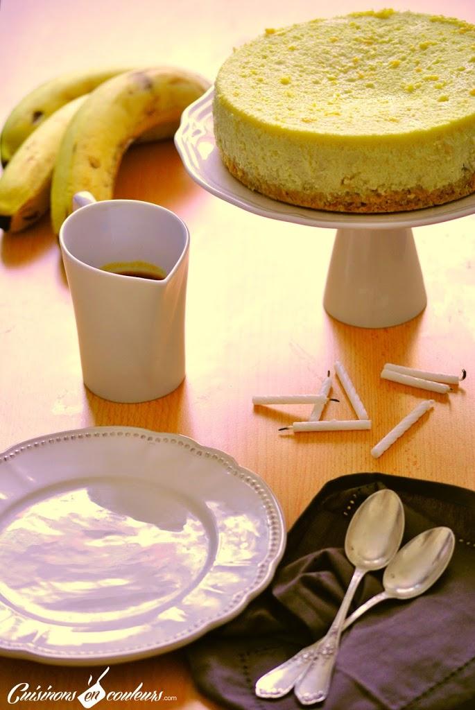 DSC_0223 - Cheesecake à la banane