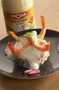 crevettes_soja4-Copier--198x300 - Atelier Amora avec 750 grammes : cuisinons la mayonnaise... à chaud!