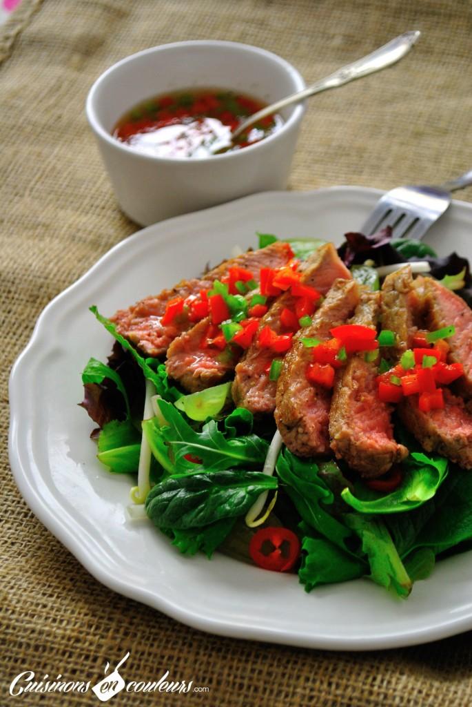 salade-thai-1-685x1024 - Salade de boeuf à la thaïlandaise