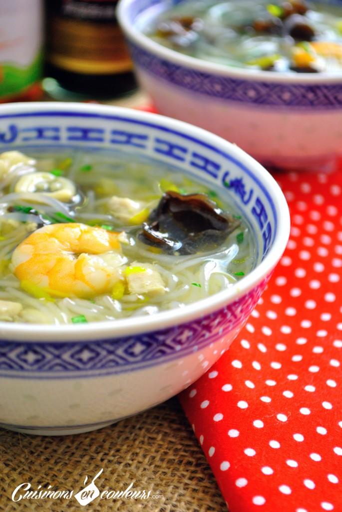 DSC_0062-1-685x1024 - Soupe Chinoise : Poissons, Crevettes, Vermicelles et plein de bonnes choses...