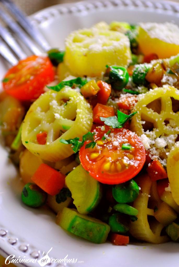 DSC_0091-1-685x1024 - Ruote con verdure, autrement dit des pâtes aux légumes