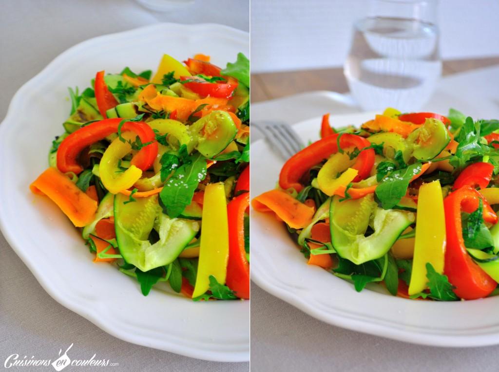 salade-de-légumes-1024x764 - Méli Mélo de légumes pour une salade pleine de couleurs!