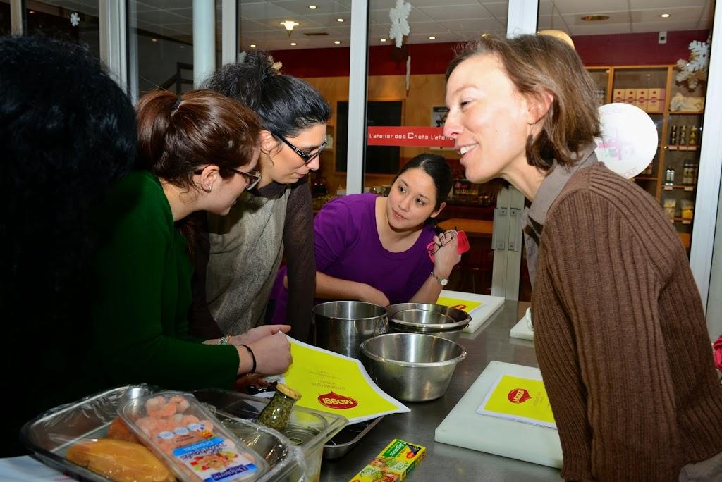 DSC_0915 - Aiguillettes de poulet panées aux chips et sauce tomatée pour un atelier MAGGI-QUE!