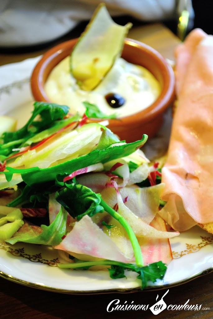 brunch-viola-salade - Viola, un brunch à l'italienne au coeur des Batignolles