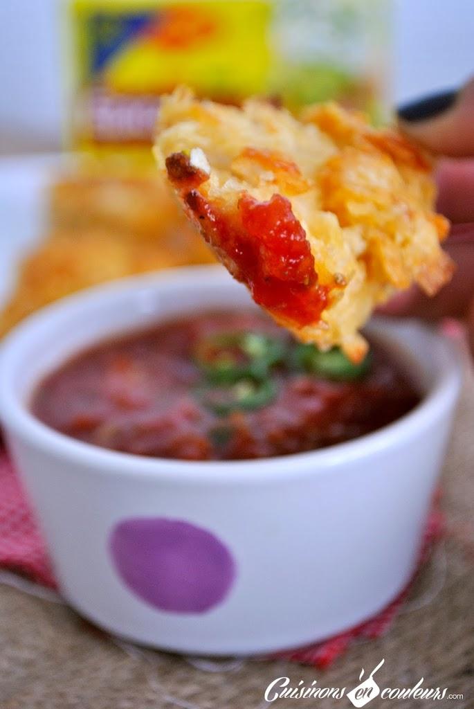 poulet-pane-CC-81-sauce-tomate - Aiguillettes de poulet panées aux chips et sauce tomatée pour un atelier MAGGI-QUE!