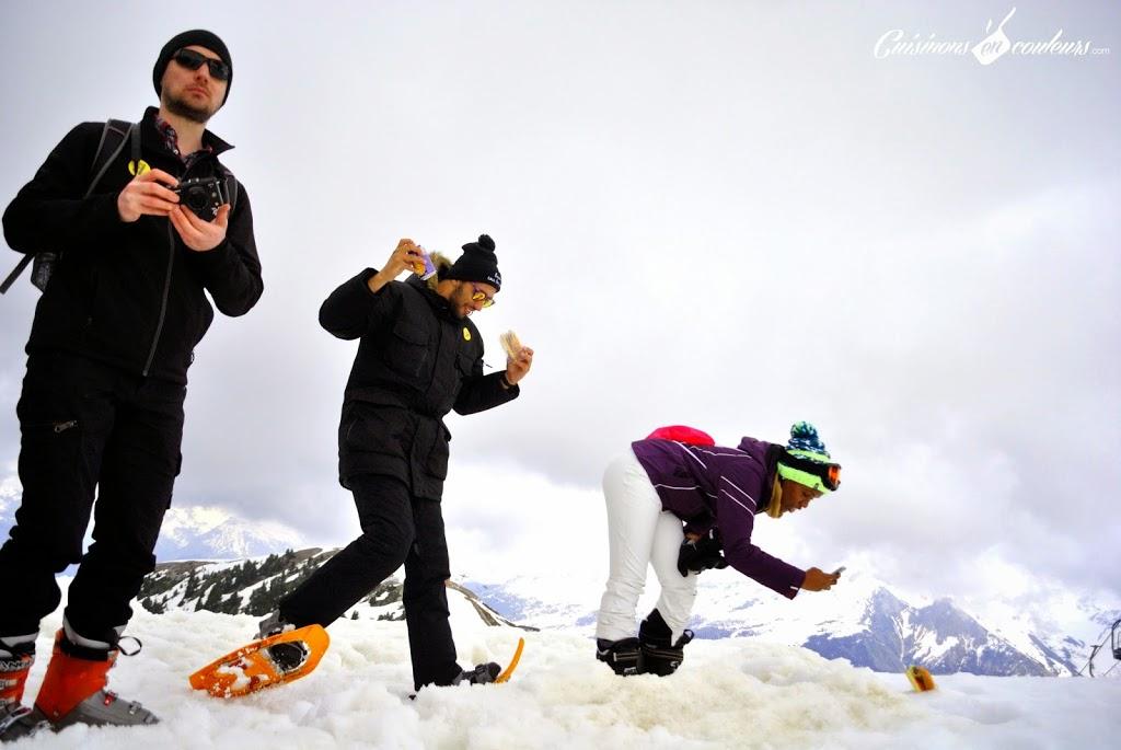 burger-a-CC-80-la-neige - Un Camion à Burger perché à 2386 m d'altitude : une expérience de FOU!