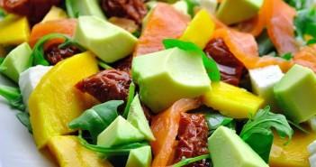 salade-2Bmangue-2Bsaumon-351x185 - Cuisinons En Couleurs