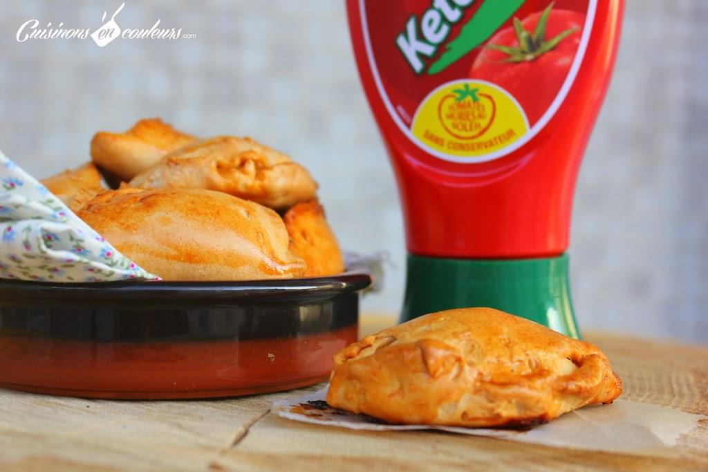 empanadas-2Bcec - Empanadas au thon, aux poivrons et au ketchup Amora