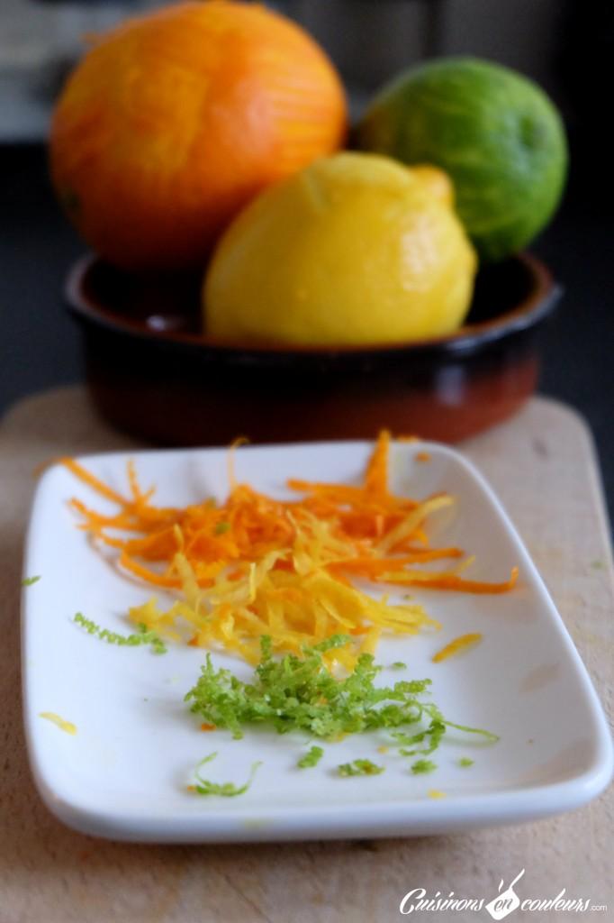 agrumes-zestes-682x1024 - Noix de Saint-Jacques aux agrumes et émulsion de carottes