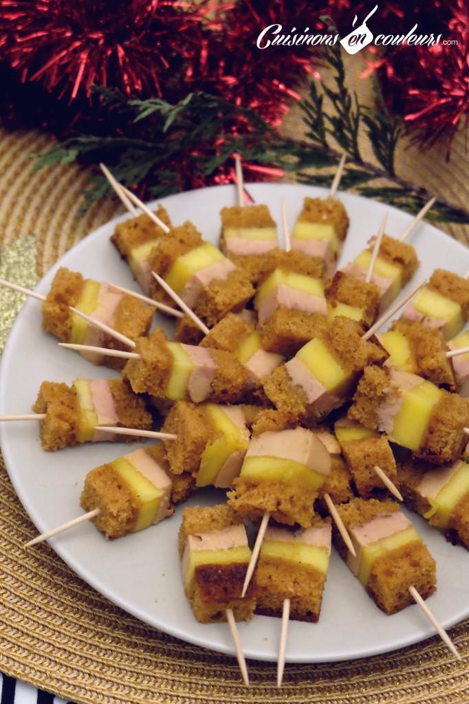 brochette-foie-gras-mangue-682x1024 - Brochettes de Foie Gras au pain d'épices et à la mangue