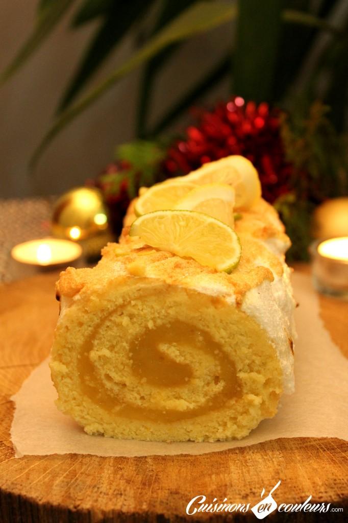 buche-citron-noel-682x1024 - Bûche au lemon curd (Recette pas à pas)