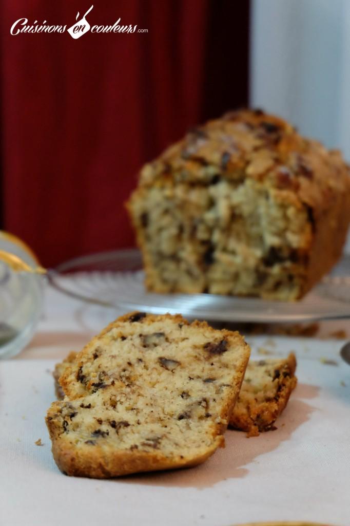 cake-banane-noix-682x1024 - Cake à la banane et aux noix