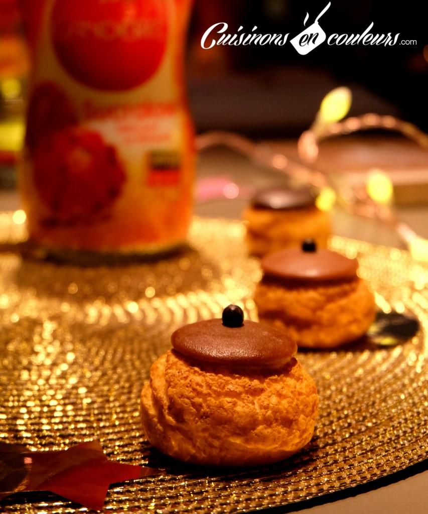 choux-popelini-canderel-853x1024 - Popelini et Canderel imaginent une bûche gourmande et allégée