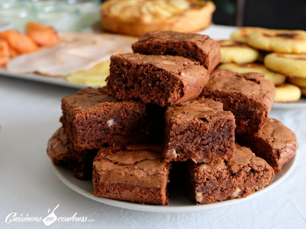 brownie-trop-facile-à-réaliser-1024x769 - Brownie intensément chocolaté !