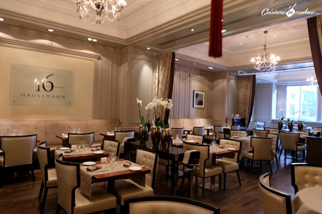 Le-16-Haussman-Restaurant-de-lHotel-Ambassador-1024x682 - Le 16 Haussmann, le restaurant du Paris Marriott Opéra Ambassador