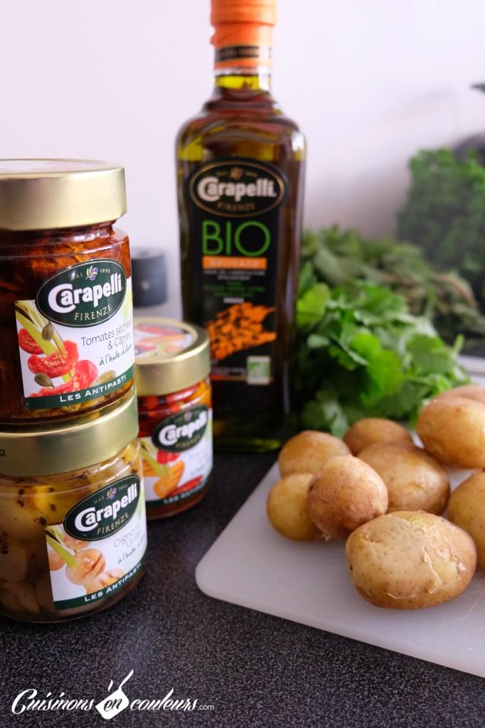 caponata-carapelli-682x1024 - Salade de pommes de terre nouvelles façon Caponata