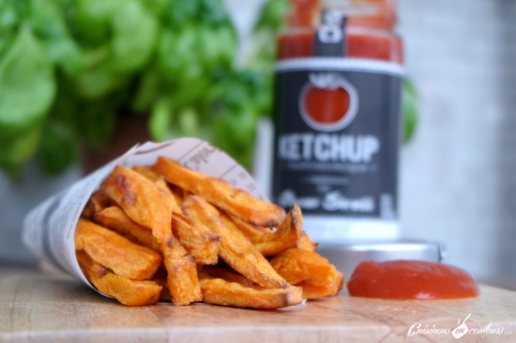 Frites-de-patates-douces-au-four-à-tomber-1024x682 - Frites de patates douces au four