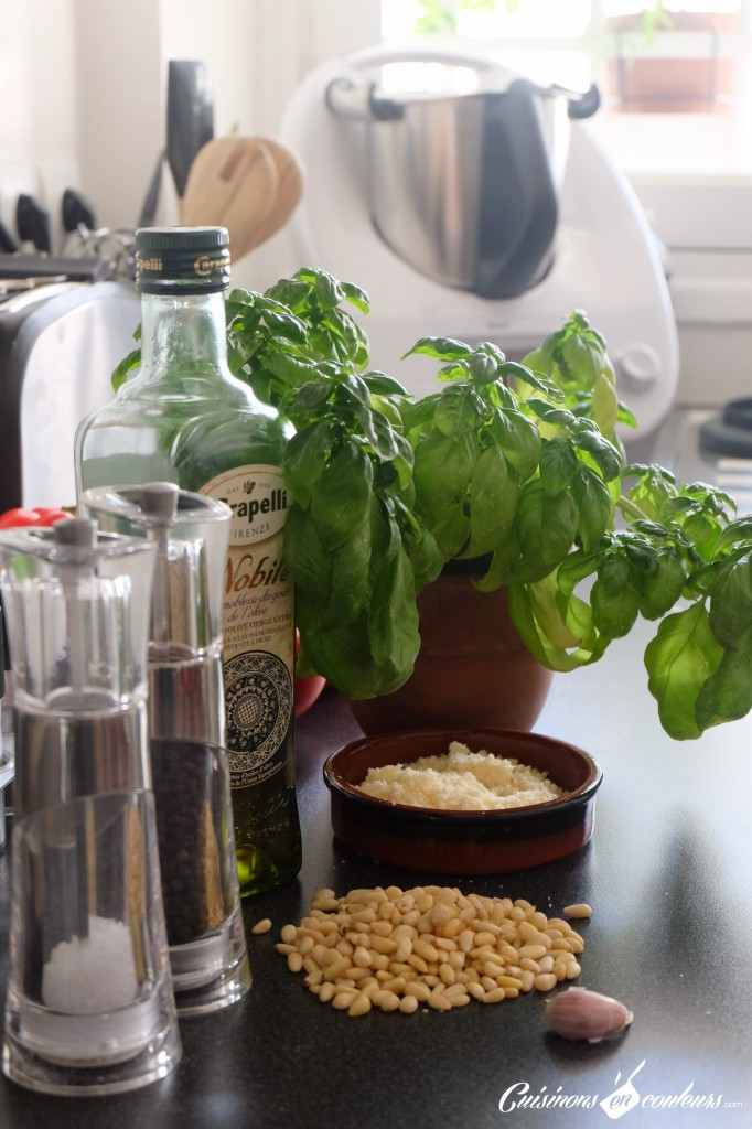 Ingrédients-pour-faire-un-VRAI-pesto-682x1024 - Pesto au basilic alla genovese